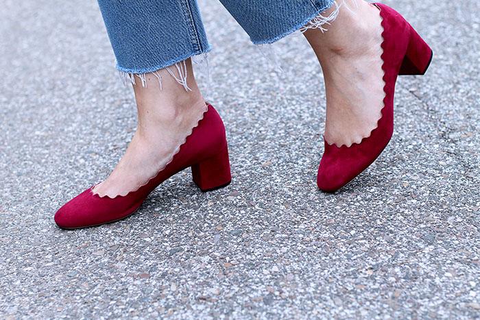 zapatos de Chloe