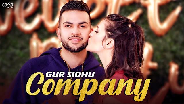 Company Song Lyrics - Gur Sidhu   Babbu   Ft. Gagan Sahi   New Punjabi Song 2020   Saga Music Lyrics Planet