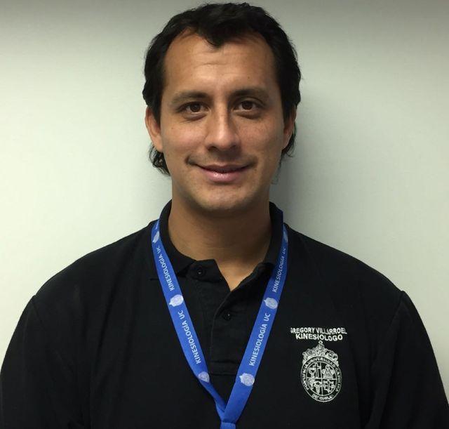 Kinesiólogo Gregory Villarroel
