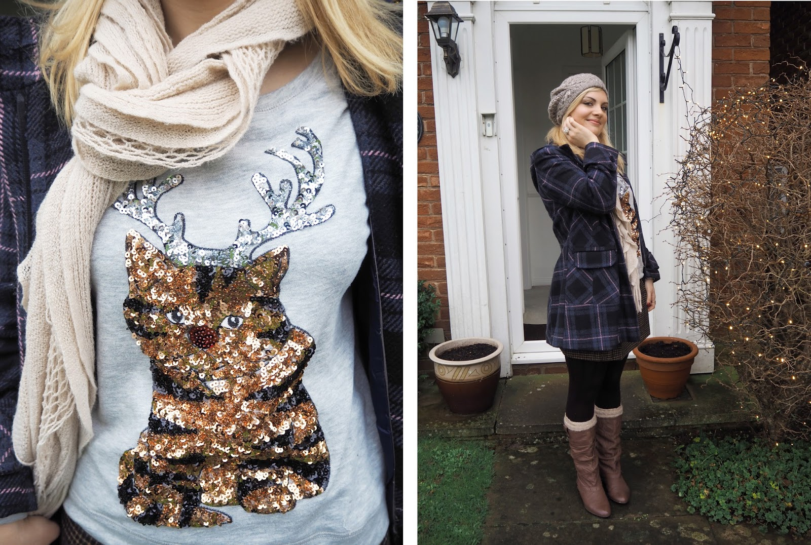 Christmas Outfit: Christmas Day 2015 | Katie Kirk Loves