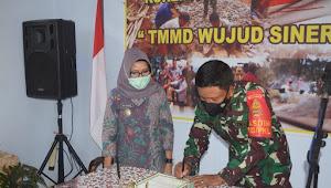 TMMD Sengkuyung I Kembali Dibuka, Kini Di Desa Kebon Rowo Pucang Karangdadap