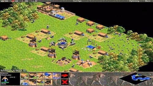 Age of Empires - loại game huyền thoại