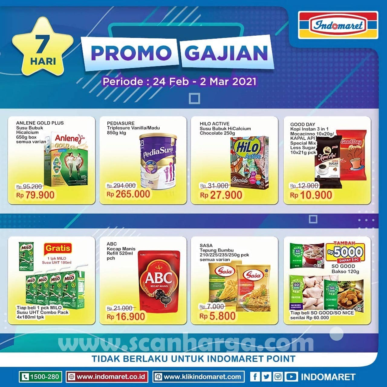 INDOMARET Promo GAJIAN Periode 24 Februari - 2 Maret 2021 1