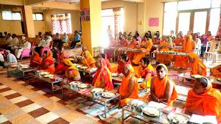बागपत के पार्श्वनाथ जैन मंदिर प्रांगण में हुआ ज्ञानालय का शुभारंभ | #NayaSaberaNetwork