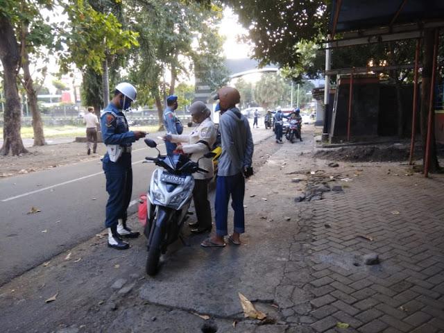 Datasemen Polisi Militer TNI Al (POMAL) Gelar Operasi Penegakan Disiplin