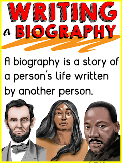 time line in a biography