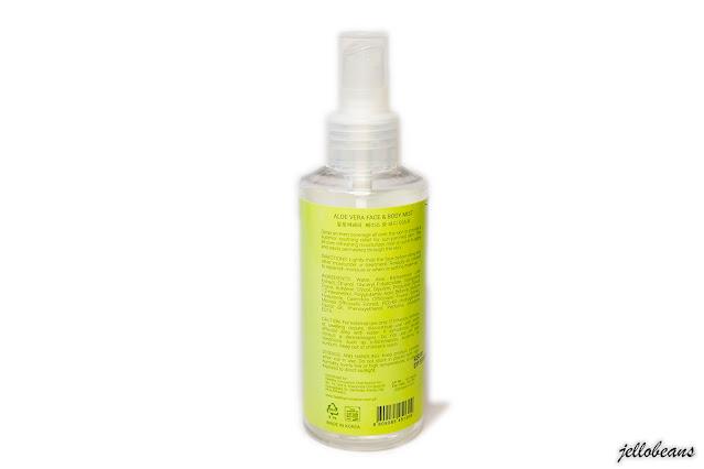 Fresh Skinlab Aloe Vera Face Mist