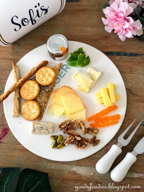 Sofitel KL mco takeaway menu cheese