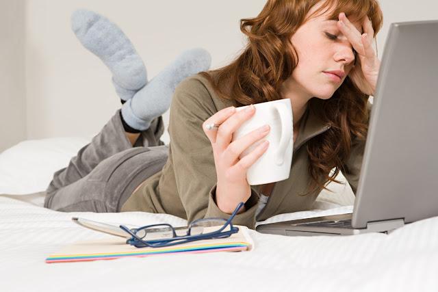 Mengatasi mata lelah didepan komputer