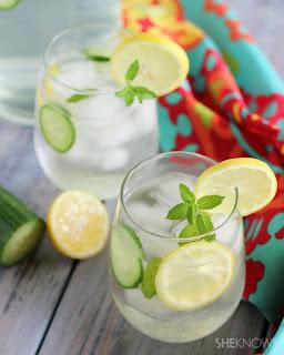 Cara Diet Cepat dan Alami Hanya Dengan Lemon dan Mentimun