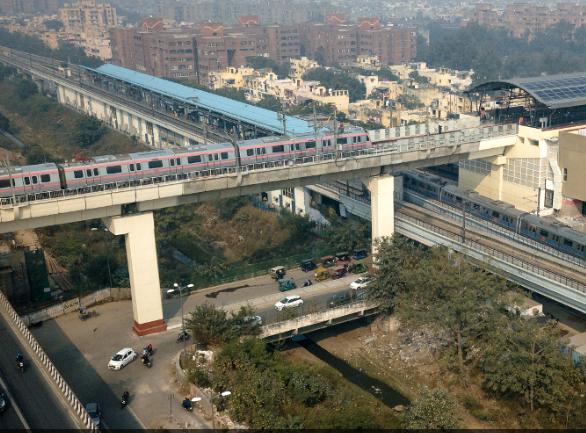 Delhi Metro Railway System in india - shaheenitclub
