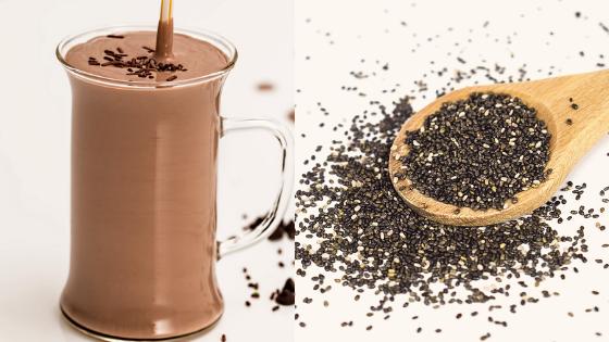 Chocolate Milkshake Chia Seed Pudding    Keto   Low Carb