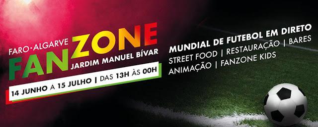 «Estádio» do Jardim Manuel Bivar a postos para receber o Mundial de Futebol