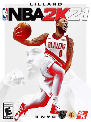 Capa do NBA 2K21