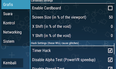 Cara Setting PPSSPP