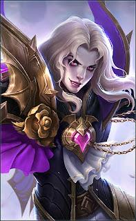 Lancelot Dark Earl Heroes Assassin of Skins V3
