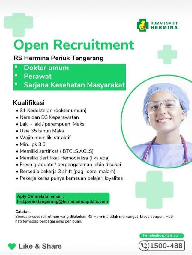 Loker Dokter RS Hermina Periuk Tangerang