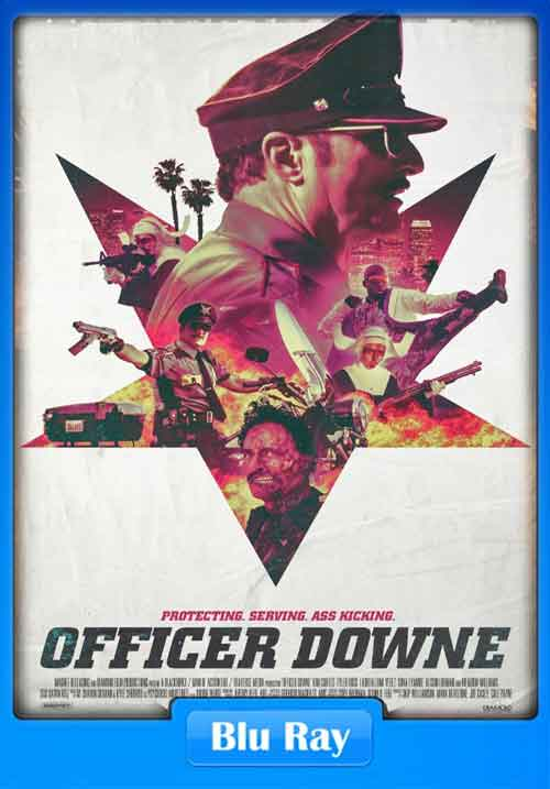 Officer Downe 2016 BluRay 180MB x265 Poster