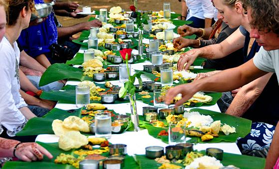 Malaysia Banana Leaf Meal
