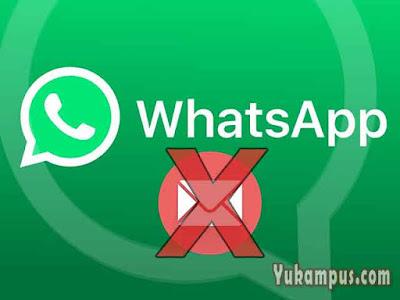 cara mengatasi whatsapp tidak bisa kirim pesan