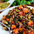 Caramelized Sweet Potato and Kale Fried Wild Rice