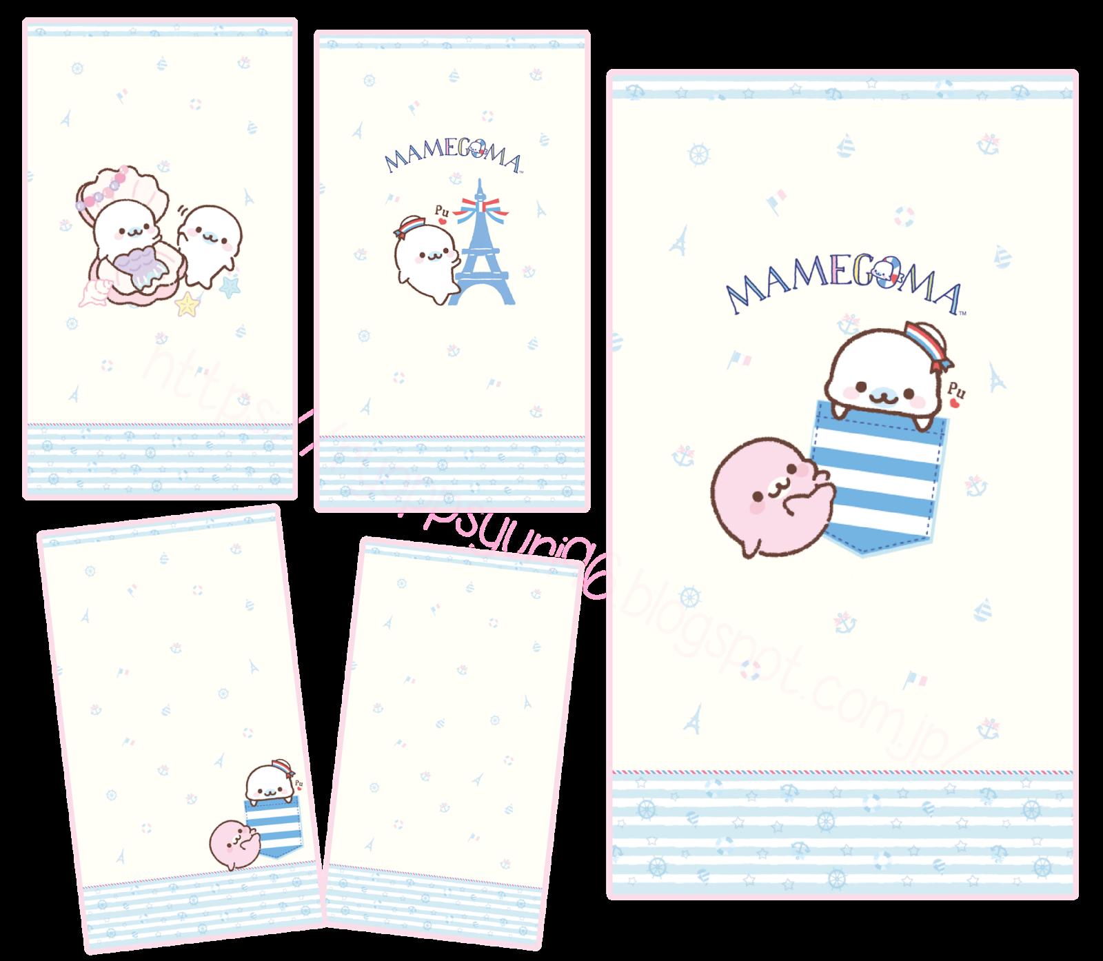 Pink Paradise Mamegoma Sailor Theme