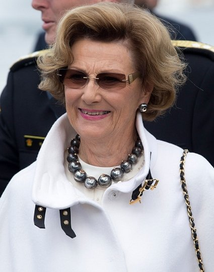 King Harald, Queen Sonja, Crown Princess Mette-Marit, Crown Prince Haakon visit Stavanger for Norway's Silver Jubilee Tour.