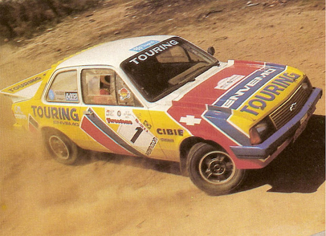 Imagem mostrando a foto do Chevette Touring Rally