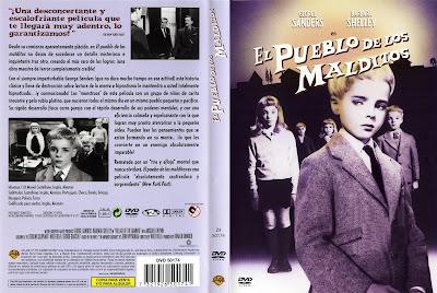 Carátula dvd: El pueblo de los malditos (1960)