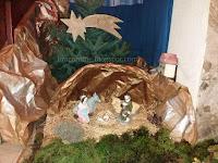 Božićne jaslice iz Osnovne škole Vladimira Nazora - Postira slike otok Brač Online