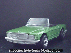 Mercedes 350 SL | Matchbox Car