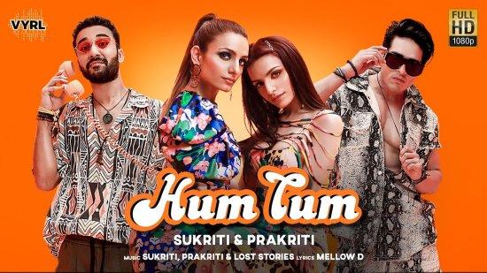 Hum Tum Lyrics Sukriti X Prakriti | Raghav Juyal X Priyank Sharma