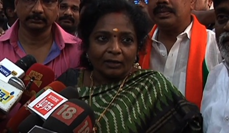 RK Nagar election cancelled again – Tamizhisai