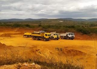 Ministério Público vai apurar extração ilegal de cascalho em Poções