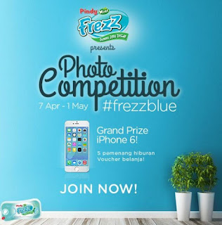 Lomba Foto FrezzBlue Pindy Mint Berhadiah iPhone 6