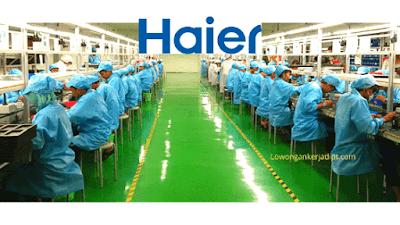 Lowongan Kerja PT Haier Electrical Appliances Indonesia