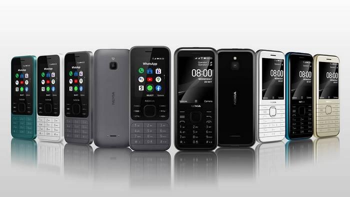 Nokia 6300 4G dan Nokia 8000 4G