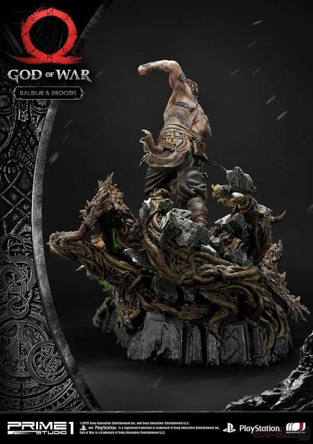 الكشف عن مجسم شخصية Baldur من لعبة God of War بسعر الذهب