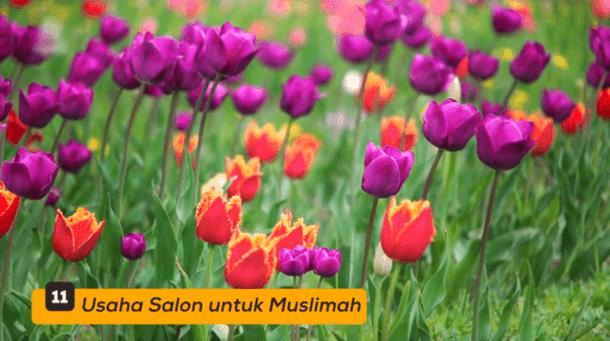 11. Usaha Salon untuk Muslimah