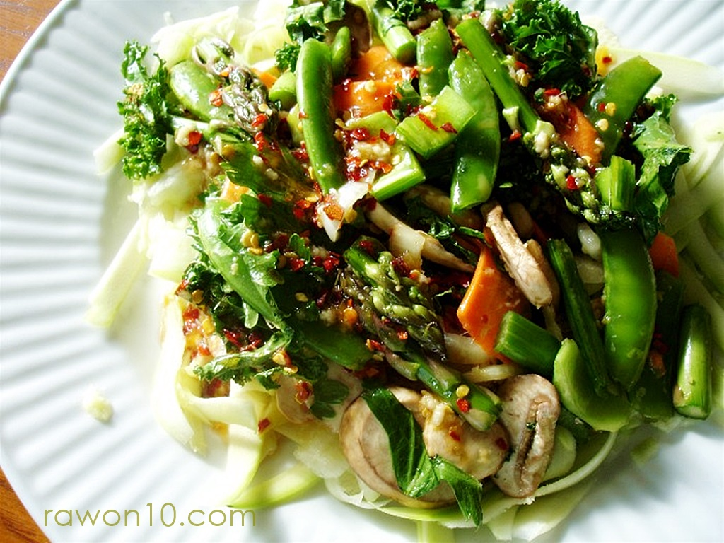 Unstirfry Raw Food Entree Recipe Planted365
