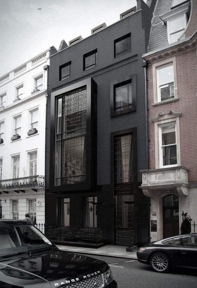 činžovní dům Londýn