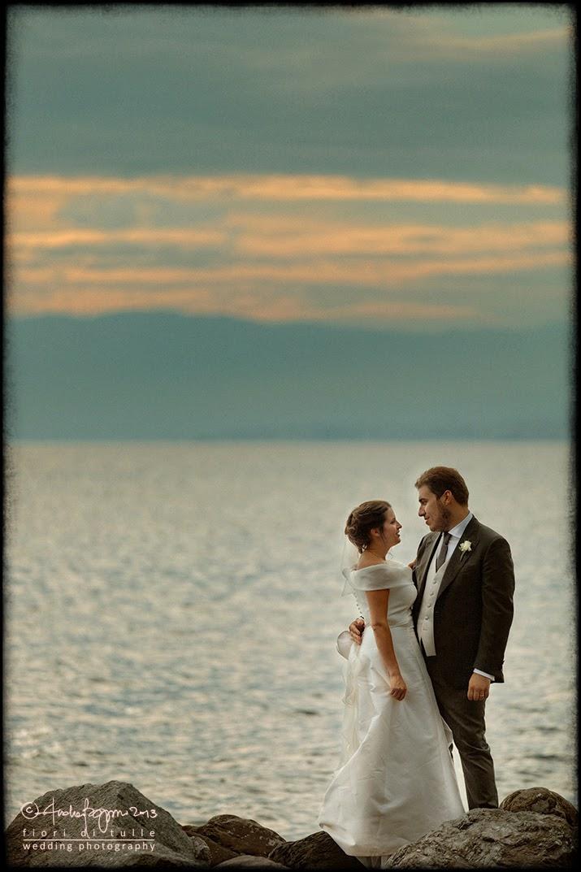 foto matrimonio spiaggia Cenobio Camogli