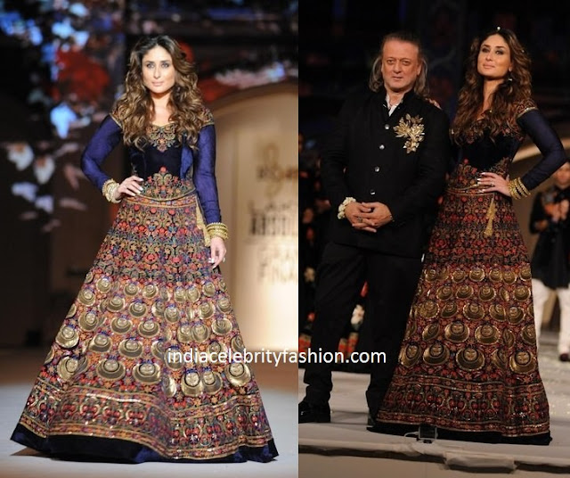 Kareena Kapoor in Rohit Bal at Lakme Fashion Week
