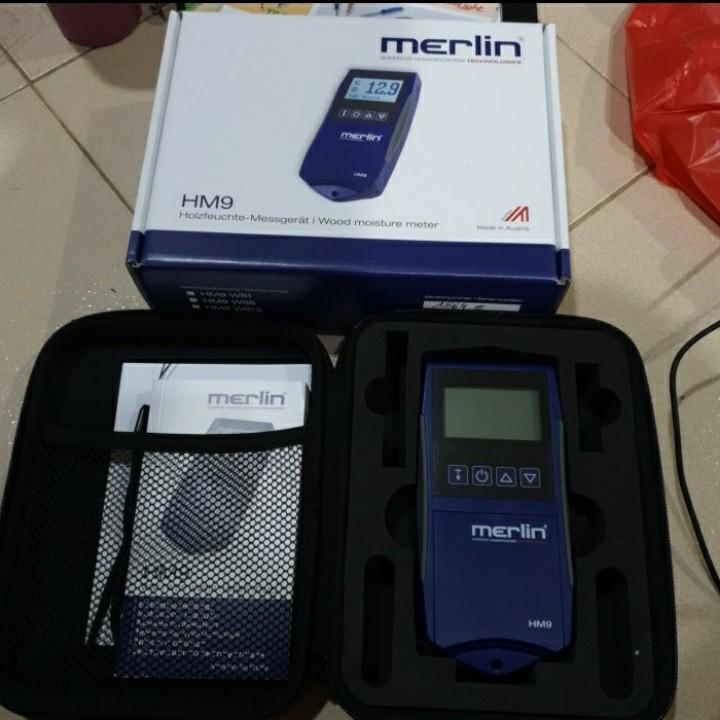 Jual Moisture Meter Wood Merlin HM9 WS5 Veneer Call 08128222998