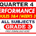SECOND PERFORMANCE TASK GRADE 3 Q4