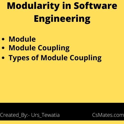 modularity in software engineering