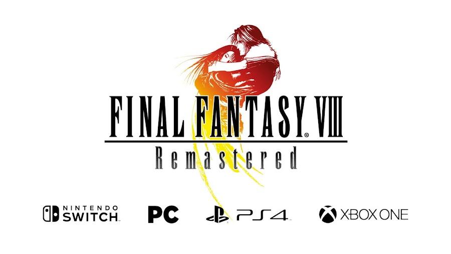 final fantasy VIII remastered square enix e3 2019 switch pc ps4 xbox one