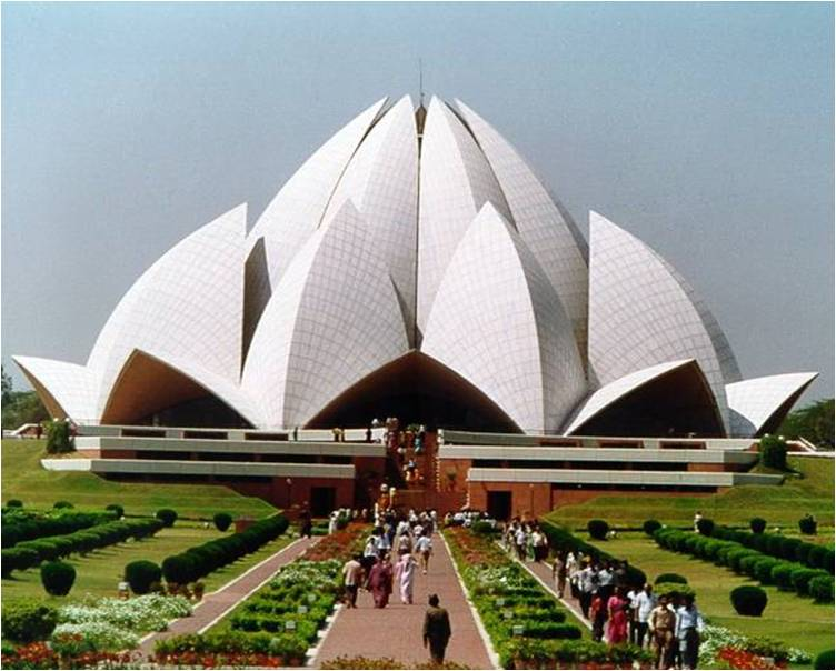 Architecture Student S Corner The Lotus Temple Baha I