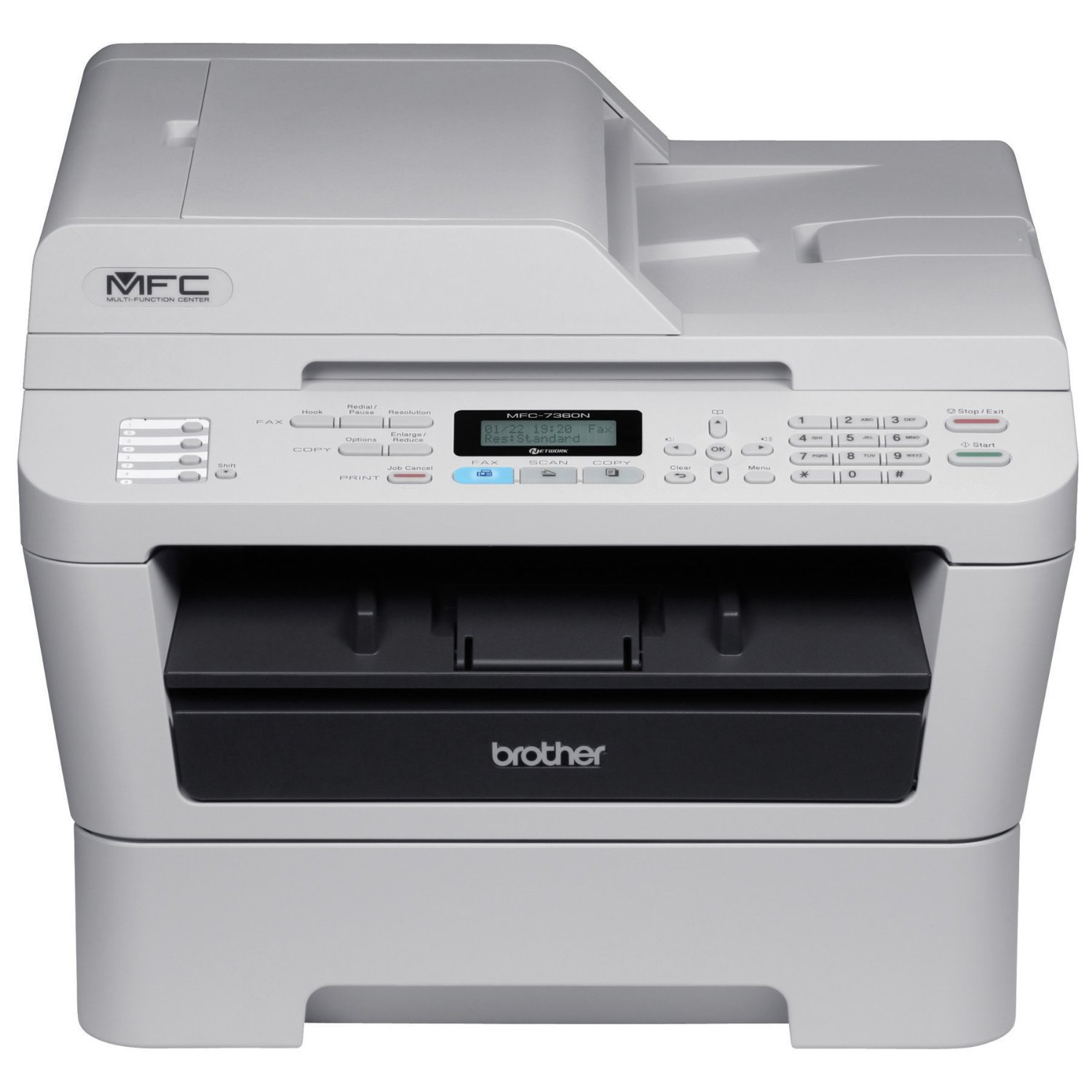 Brother Mfc 7360n All In One Printer Techtack Lessons