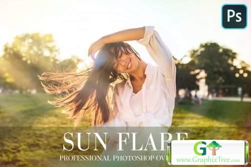 Sun Flare Overlays Photoshop [Stock Image] [Objects & Elements]